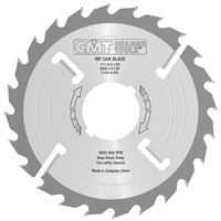 CMT Multi-rip Saw Blade Thick-Kerf with Rakers - D300x4 d30 Z24+4 MEC HW